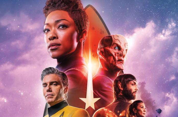 Un poster di Star Trek: Discovery