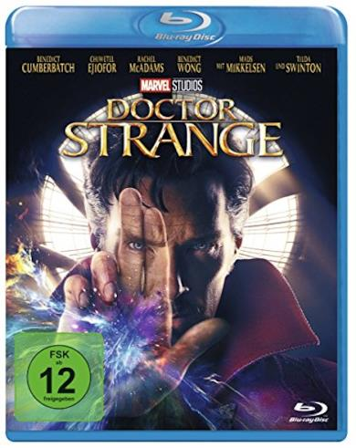 Cofanetto Blu-ray di Doctor Strange