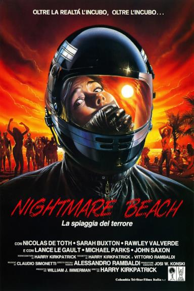 Poster Nightmare Beach - La spiaggia del terrore