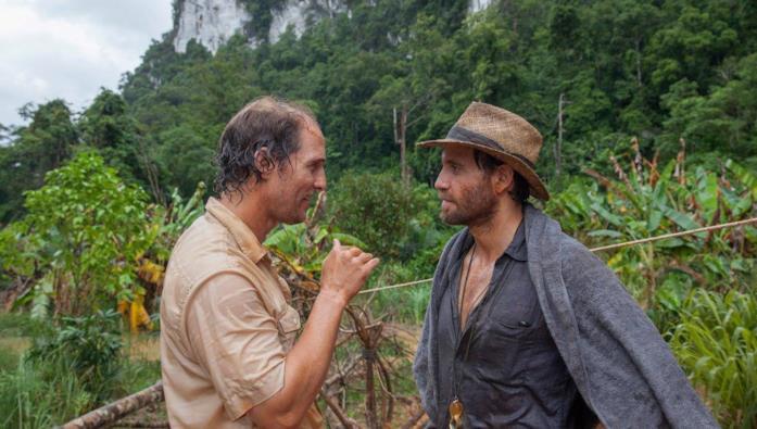 Matthew McConaughey ed Edgar Ramirez in Gold