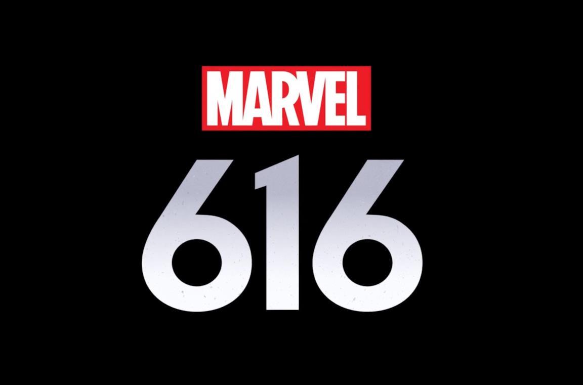 Il logo di Marvel 616