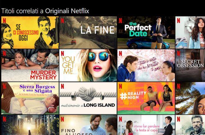 I contenuti originali di Netflix