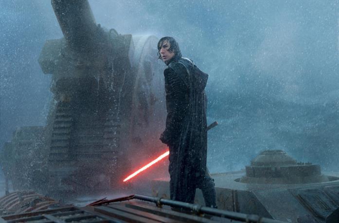 Kylo Ren in Star Wars IX