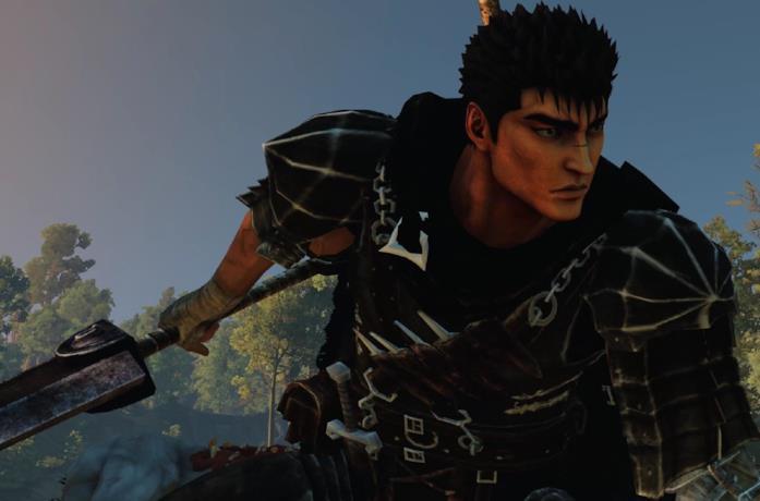 Gatsu di Berserk in The Witcher 3: Wild Hunt