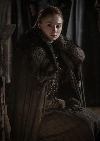 Sansa arrabbiata o infastidita nelle Cripte di Grande Inverno