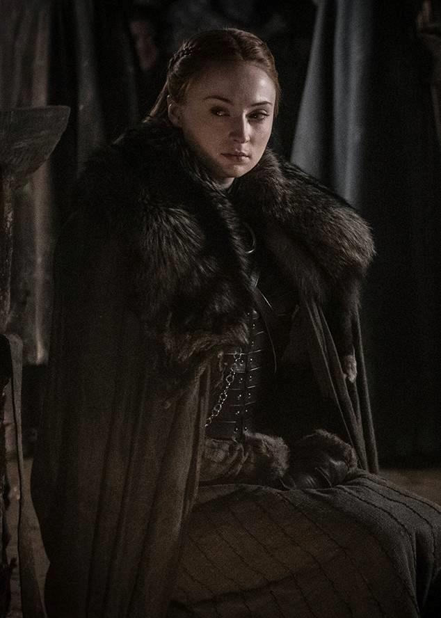 Sansa nelle Cripte di Grande Inverno durante la battaglia