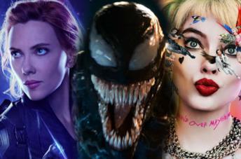 Black Widow, Venom e Birds of Prey