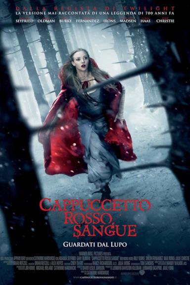 Poster Cappuccetto rosso sangue