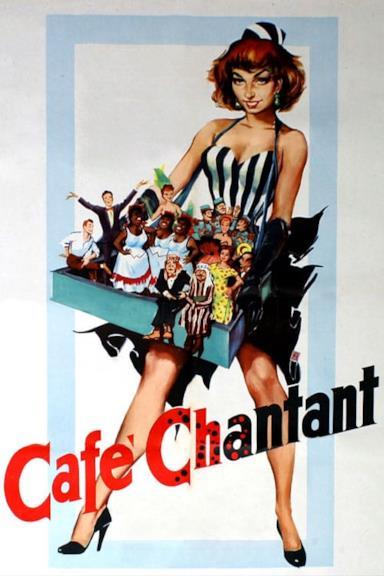 Poster Café Chantant
