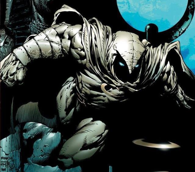 Cover di Moon Knight Vol. 1: The Bottom