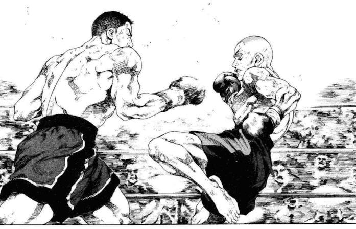 Ryo VS Sugawara in Shamo - Nato per combattere