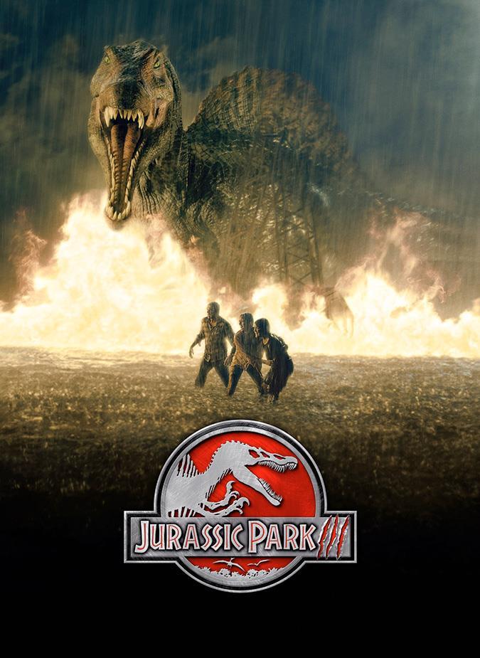 Il poster di Jurassic Park III