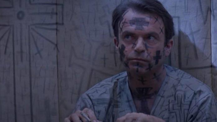 John Trent è interpretato da Sam Neill