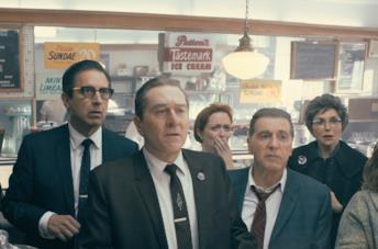 Joe Pesci, Robert De Niro e Al Pacino