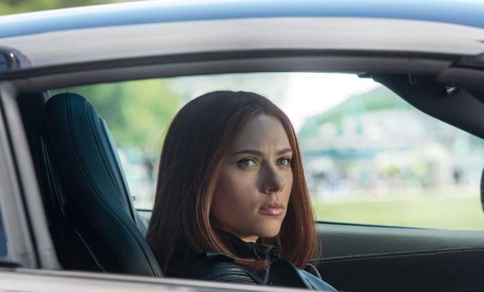 Scarlett Johansson come Vedova Nera in Captain America: The Winter Soldier