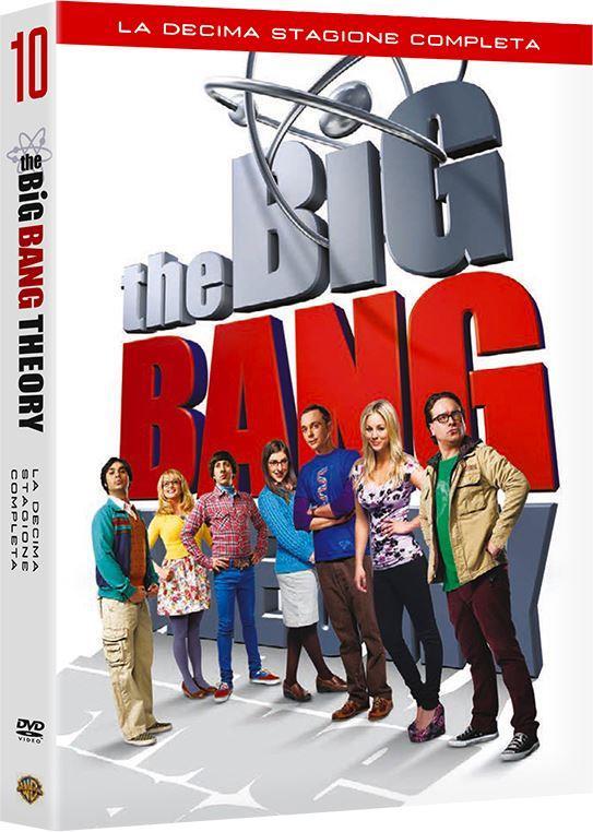 Il cofanetto DVD della decima stagione di TheBig Bang Theory