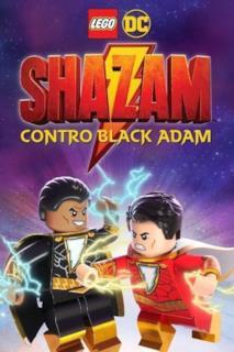 Poster LEGO DC Shazam: Shazam contro Black Adam