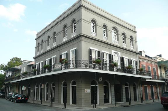LaLaurie Mansion vista dall'esterno