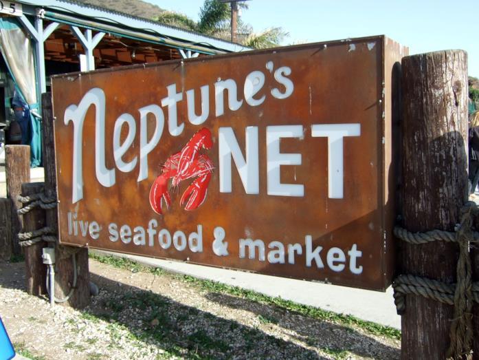 Il ristorante Neptune's Net, location di Fast and Furious