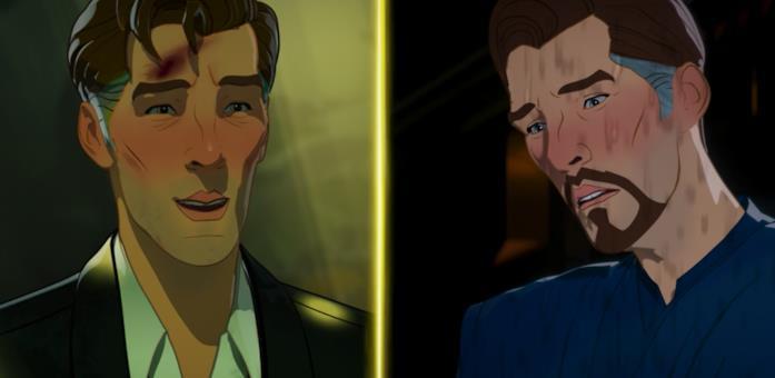 I due Strange protagonisti di What If...?