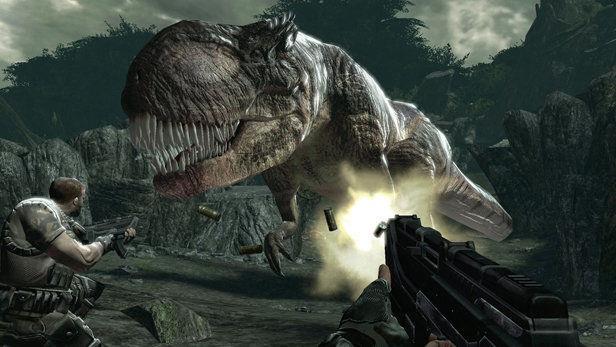 Un'immagine di gioco da Turok (2008)
