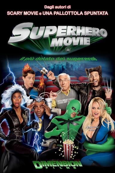 Poster Superhero - Il più dotato fra i supereroi