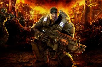 Marcus Fenix in Gears of War