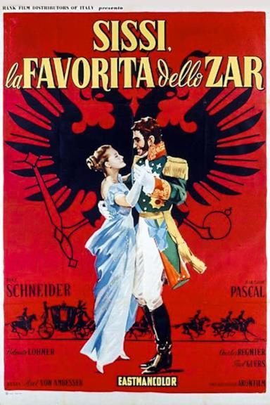 Poster Sissi la favorita dello zar