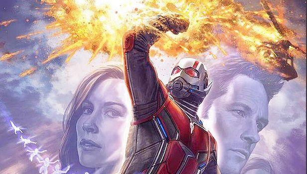 Un poster con i protagonisti di Ant-Man and the Wasp