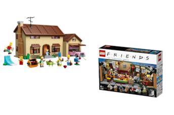 Set LEGO a tema Simpson e Friends
