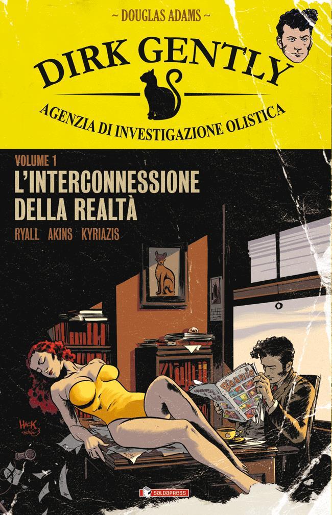 Copertina del primo numero di Dirk Gently, Agenzia di Investigazione Olistica