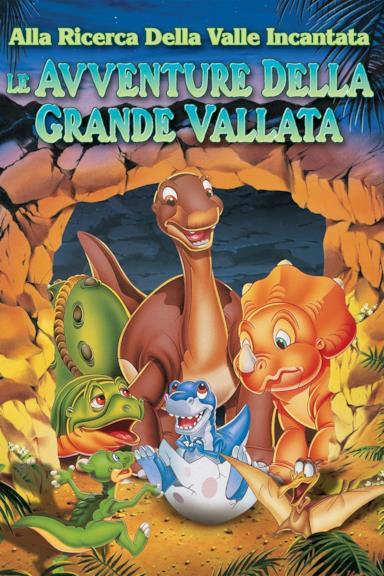 Poster Alla ricerca della valle incantata 2 - Le avventure della grande vallata