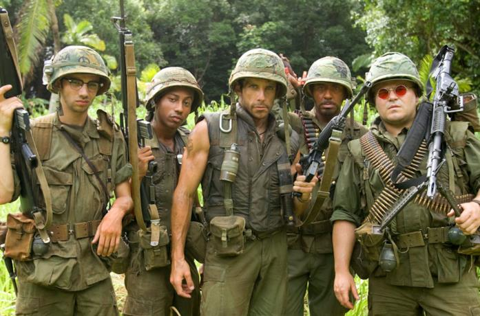 I protagonisti di Tropic Thunder