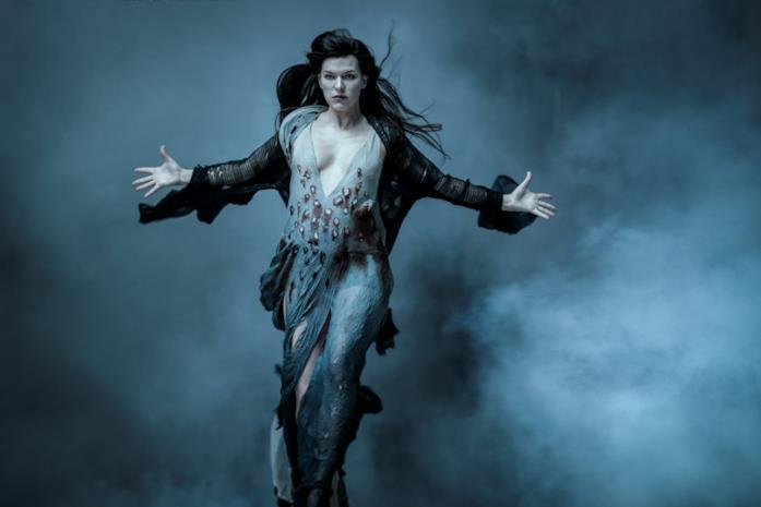 Milla Jovovich nei panni di Nimue