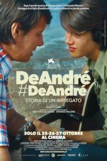 Poster DeAndré#DeAndré - Storia di un impiegato