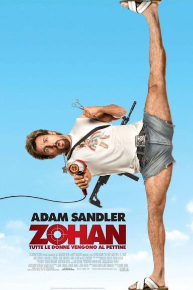 Poster Zohan - Tutte le donne vengono al pettine
