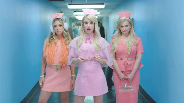 Le Chanel in versione infermiere in Scream Queens 2
