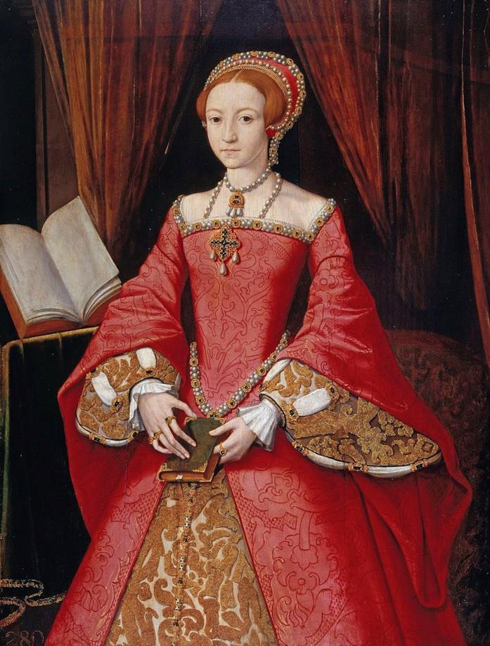 Un dipinto che ritrae Elisabetta I