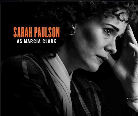 Sarah Paulson sarà Marcia Clark