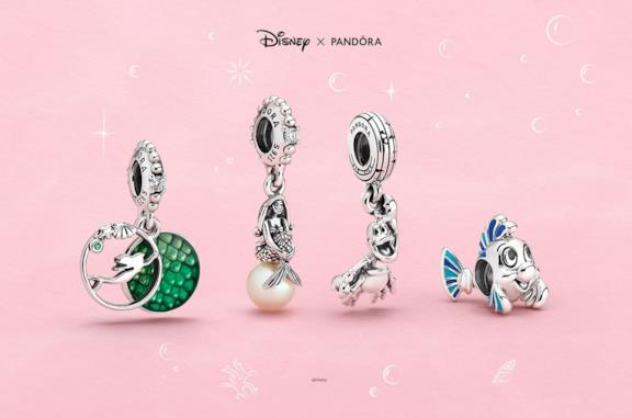 Pandora: la collezione per i 30 anni de La Sirenetta è un tuffo nella magia Disney