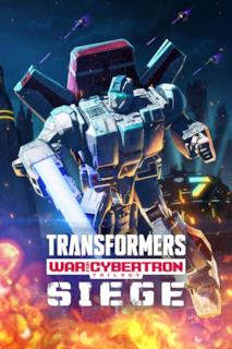 Poster Transformers: War for Cybertron: L'assedio