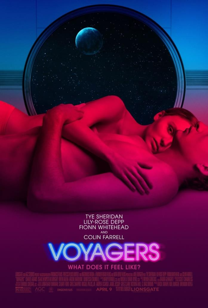 La locandina di Voyagers