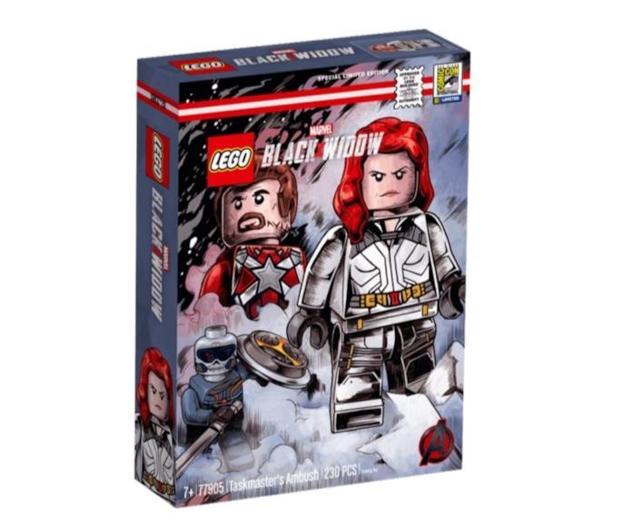 Black Widow: il primo set LEGO è in vendita