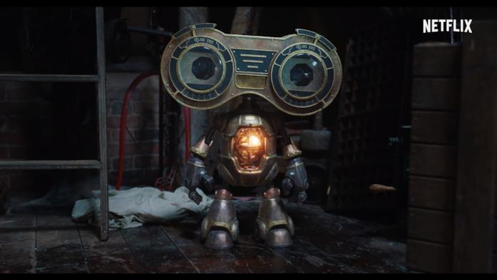 Un piccolo robot dai grandi occhi