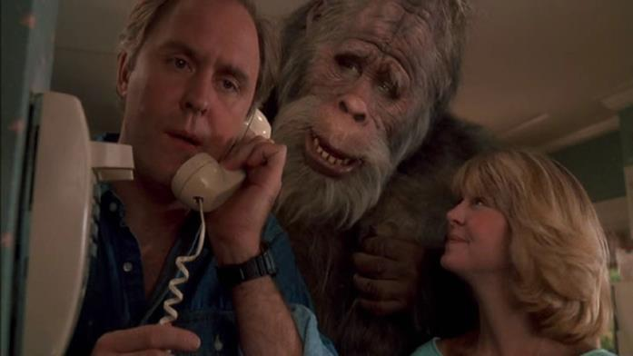 Una scena del film Bigfoot e i Suoi Amici