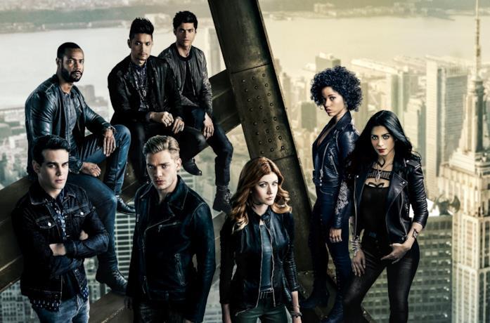Il cast di Shadowhunters
