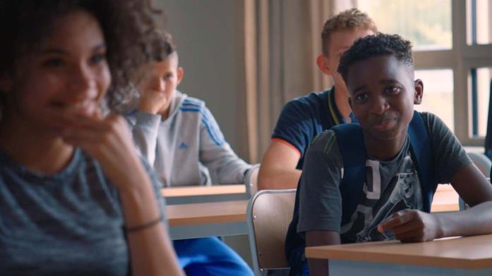 Una scena con gli studenti di Il professore cambia scuola