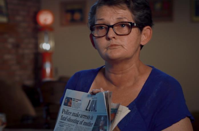 Why Did You Kill Me?, Belinda Lane, madre di Crystal Theobald