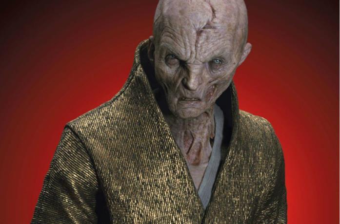 Un'immagine del Leader Supremo Snoke