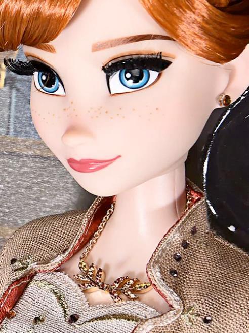 Frozen 2, la bambola di Anna da 30.000 dollari di Roberto Coin